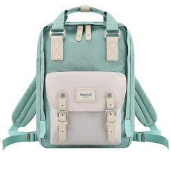 Himawari School Waterproof Backpack 14.9″ College Vintage Travel Bag for Women,14 inch La ...