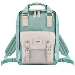 Himawari School Waterproof Backpack 14.9″ College Vintage Travel Bag for Women,14 inch La ...