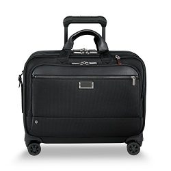 Briggs & Riley @ Work-Spinner Brief Rolling Briefcase, Black, Large