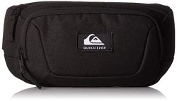 Quiksilver Men's JUNGLER II Waist Pack, black, 1SZ
