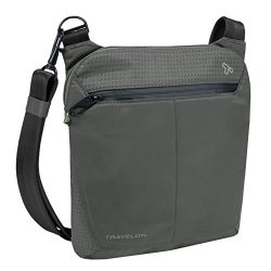 Travelon Anti-Theft Active Small Crossbody, Charcoal