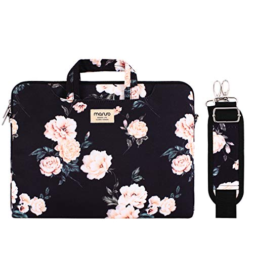 MOSISO Laptop Shoulder Bag Compatible with 13-13.3 inch MacBook Pro, MacBook Air, Notebook Compu ...