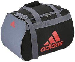 adidas Diablo Small Duffel BagDark Grey/Onix/RedSmall
