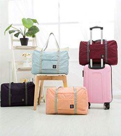 melupa Foldable Travel Duffel Bag, Carry On Luggage Bag, Lightweight Travel Luggage Bag for Spor ...