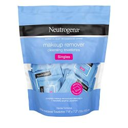 Neutrogena Makeup Remover Cleansing Towelette Singles, Daily Face Wipes to Remove Dirt, Oil, Mak ...