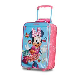 American Tourister Disney Kids Minnie Mouse Softside Upright 18 Inch, 2