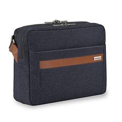 Briggs & Riley Kinzie Street-Micro Messenger Laptop Bag, Navy, One Size