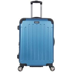 Kenneth Cole Reaction Renegade 24″ Lightweight Hardside Expandable 8-Wheel Spinner Checked ...