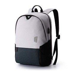 Laptop Backpack, BAGSMART Travel Backpacks Laptop Bag for Women Men, Travel Business Backpack wi ...