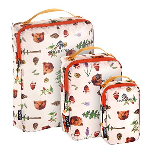 Eagle Creek Unisex-Adult's Specter Packing Cubes, (XS/S/M), Golden State Print