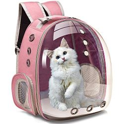 Henkelion Dog Carrier Backpack Front Pack, Pet Carrier Back Pack for Small Medium Cat Puppy Dogg ...