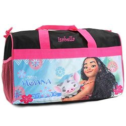 Personalized Licensed Kids Travel Duffel Bag – 18″ (Moana)