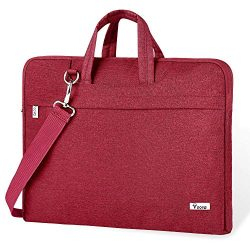 Voova Laptop Bag,17 17.3 Inch Laptop Sleeve Carrying Case Slim Computer Messenger Shoulder Brief ...