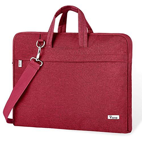 Voova Laptop Bag,17 17.3 Inch Laptop Sleeve Carrying Case Slim Computer Messenger Shoulder Brief ...
