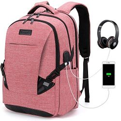 Tzowla Travel Laptop Backpack Waterproof Business Work School College Bag Daypack with USB Charg ...