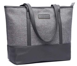 Malirona Laptop Tote Bag,Fits 15.6 Inch Laptop,Womens Lightweight Water Resistant Nylon Tote Bag ...
