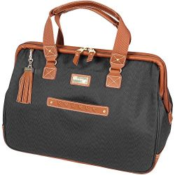 Steve Madden Global Wire Frame Satchel (Black)