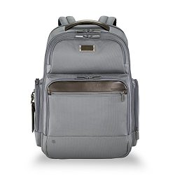 Briggs & Riley @Work Large Laptop Backpack for women and men. Fits up to 17 inch laptop. Bus ...
