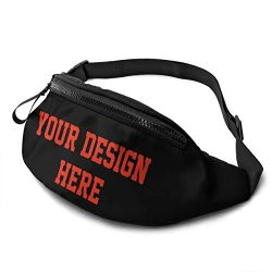 Custom Unisex Running Waist Packs Casual Waist Bag, Hiking Sport Fanny Packs for Man Women Carrying
