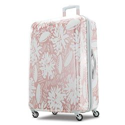 American Tourister Checked-Large, Ascending Gardens Rose Gold
