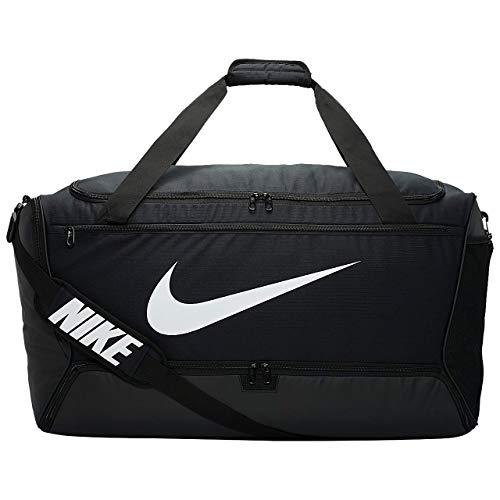 Nike Nike Brasilia Xl Duffel – 9.0, Black/Black/White, Misc