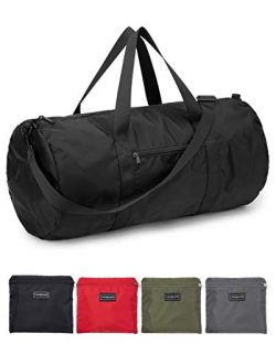 Vorspack Small Duffel Bag 20″ Foldable Lightweight Gym Bag with Inner Pocket for Travel Sp ...