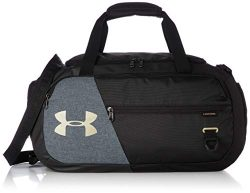 Under Armour Undeniable Duffle 4.0, Black/Metallic Gold, Small