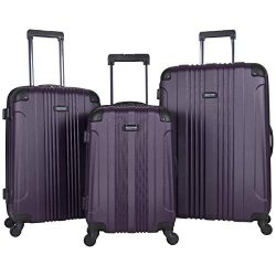 Kenneth Cole Reaction Out Of Bounds 3-Piece Lightweight Hardside 4-Wheel Spinner Luggage Set: 20 ...