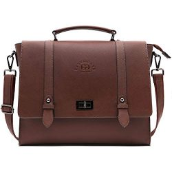 17 Inch Briefcase for Women,Multi-Pocket Work Bag Spacious Office Computer Bags Laptop Messenger ...