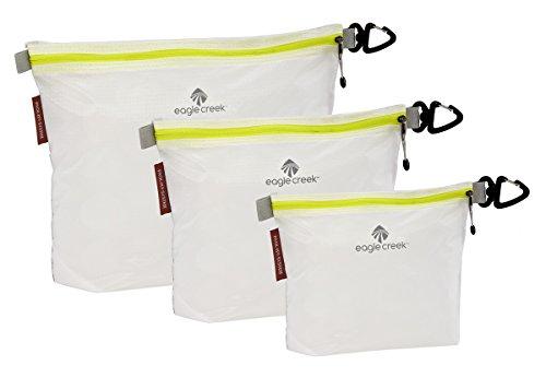 Eagle Creek Travel Gear Luggage Pack-it Specter Sac Set, White/Strobe