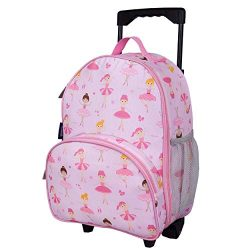 Wildkin Kids Rolling Luggage for Boys and Girls, Bag is Carry-On Size and Perfect for School or  ...