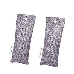 TAILERRI 2 Pack Bamboo Charcoal Air Purifying Bag, Shoes Deodorizer, Odor Eliminators, Moisture  ...