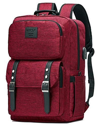 Laptop Backpack Women Men College Backpacks Bookbag Vintage Backpack Book Bag Fashion Back Pack  ...