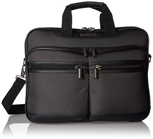 Kenneth Cole Reaction Brooklyn Multi-Pocket TSA Checkpoint-Friendly 17″ Laptop Anti-Theft  ...
