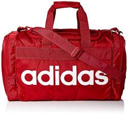 adidas Unisex Santiago Duffel Bag, Active Maroon/White, ONE SIZE