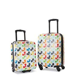 American Tourister Disney Hardside Luggage with Spinner Wheels, Mickey Mouse 2